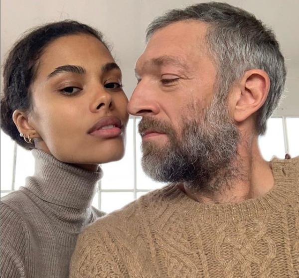 Vincent Cassel et la top model Tina Kunakey se préparent à la naissance de leur futur bébé