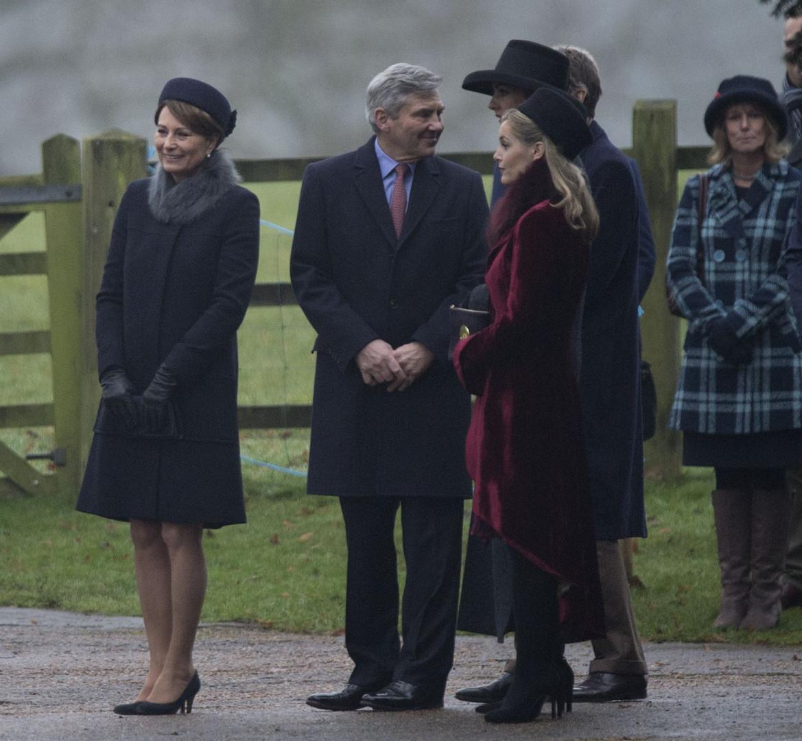 Carole et Michael, les parents de Kate et Pippa Middleton
