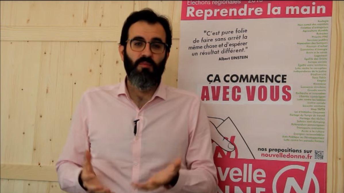 Cyril Jarny, candidat Nouvelle Donne aux régionales 2015 en PACA