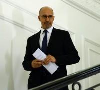 Harlem Désir, secrétaire d'État auprès du ministre des affaires étrangères et du dvlpt international, chargé des affaires européennes.