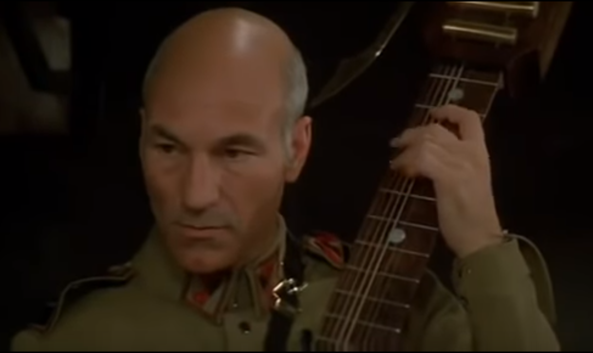 "Patrick Stewart interprétait Gurney Halleck dans le ""Dune"" de David Lynch (1985)"