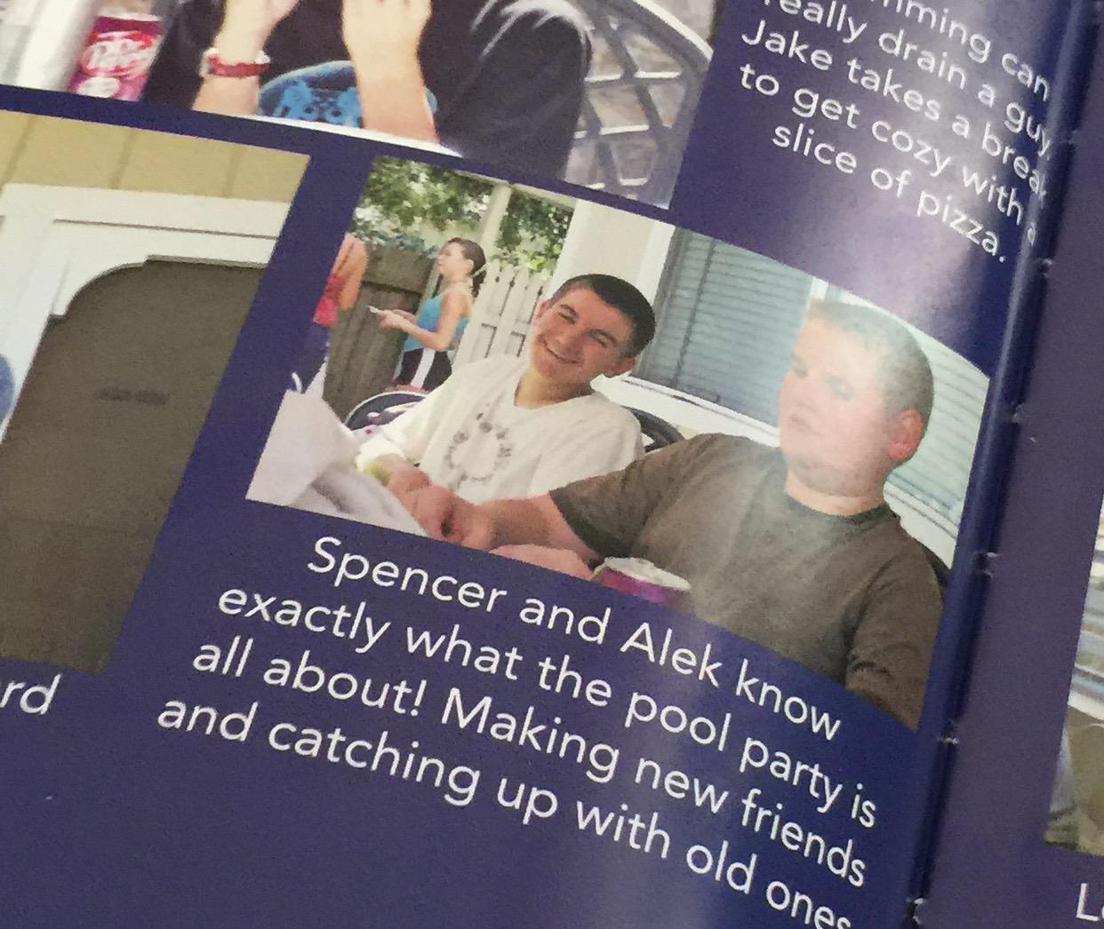 Spencer et Alek
