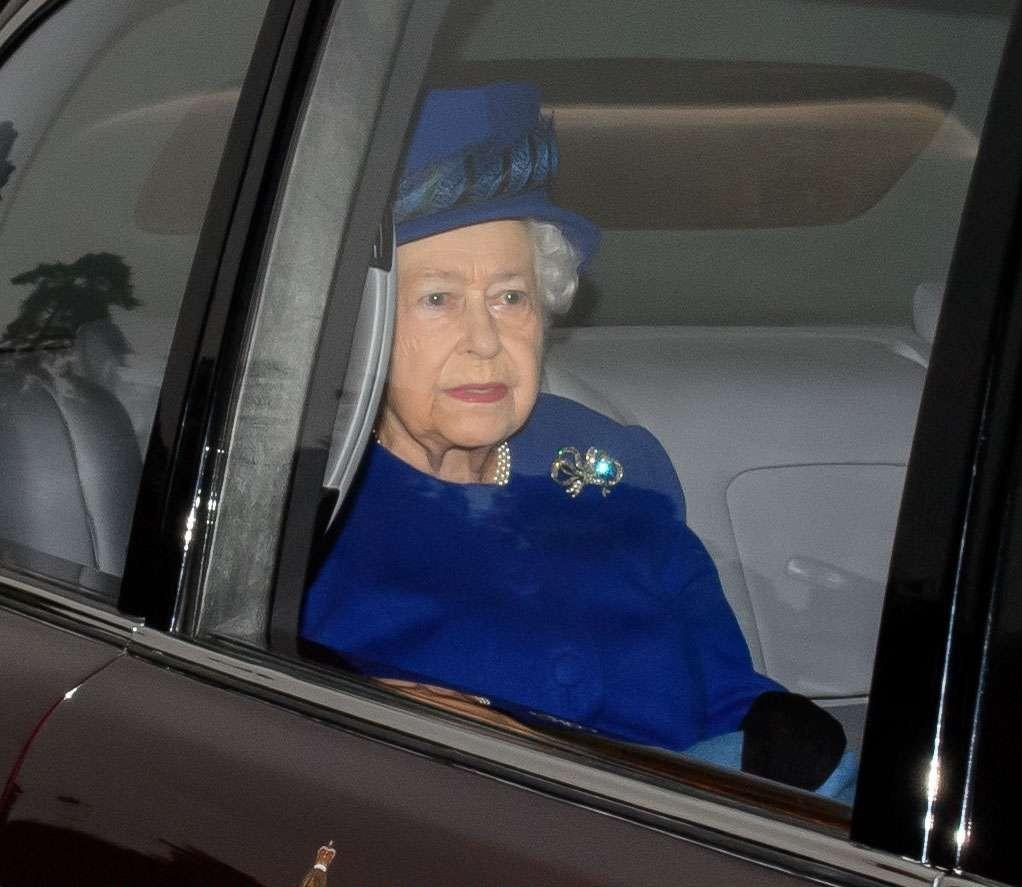 La reine a l'air d'aller mieux