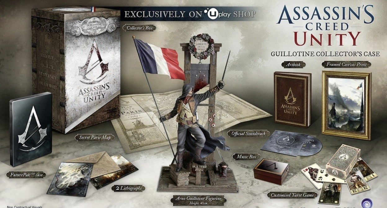 "Une édition collector ""Assassin's Creed Unity"" à 139 euros sur le site Assassin's Creed"