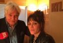 Beth Hart et Georges Lang dans le studio des Nocturnes