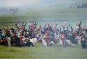 Une reconstitution de la bataille de Waterloo (18 juin 1815)