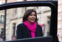 La maire de Paris Anne Hidalogo, le 23 mai 2014