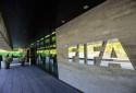 Le logo de la FIFA dont le siège se trouve à Zurich