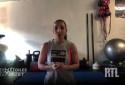 VIDÉO - Sport à la maison durant le confinement : les exercices de Sarah Ourahmoune