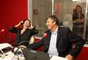 Agnès Bonfillon et Christophe Pacaud dans RTL Grand Soir au Mondial de l'Automobile