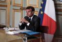 Emmanuel Macron, président de la République, le 18 mai 2020
