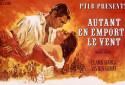 """""""Autant en emporte le vent"""" de Victor Fleming avec Vivien Leigh et Clark Gable (1939)"""