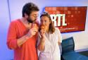 """Bérénice Bourgueil et Eric Jean-Jean dans """"Le Grand Quiz RTL"""""""