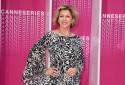 Corinne Touzet au Festival de Cannes, le 7 avril 2018