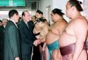Jacques Chirac le 12 novembre 1996 au Japon