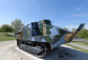 """Un char Schneider CA1 basé à  Berry-au-Bac, près du """"Chemin des Dames"""