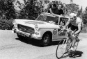 Eddy Merckx sur le Tour de France le 6 juillet 1970