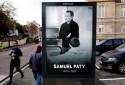 Samuel Paty a été victime d'une attaque terroriste islamiste, le 16 octobre 2020, à Conflans-Sainte-Honorine, dans les Yvelines.