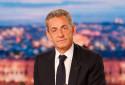 Nicolas Sarkozy sur le plateau du JT de TF1 le 3 mars 2021 à Boulogne-Billancourt