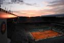 Un court de tennis de Roland-Garros (illustration)