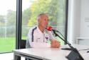 Le sélectionneur des Bleus Didier Deschamps à Clairefontaine le 9 octobre 2019