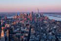 Photo de New York depuis l'observatoire du 86e étage de l'Empire State Building le 3 avril 2021. (Illustration)