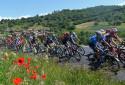 Le peloton du Critérium du Dauphiné le 31 mai 2021