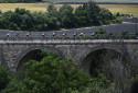Le peloton du Tour de France le 7 juillet 2021