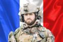 Le Caporal-chef Maxime Blasco du 7e bataillon de chasseurs alpin, tué au combat au Mali le 24 septembre 2021, lors d'une opération de la force anti-jihadiste française Barkhane.