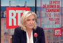 Marine Le Pen est l'invitée de RTL le 14 octobre 2021