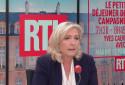 Marine Le Pen invitée de RTL ce jeudi 14 octobre