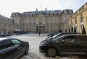 Des voitures garées à l'intérieur du palais de l'Élysée (photo d'illustration)