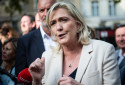 Marine Le Pen le 15 octobre 2021