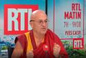 Mathieu Ricard était l'invité de RTL jeudi 21 octobre.