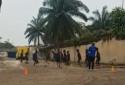 L'équipe U20 féminine du Congo à l'entraînement.