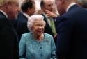 La reine Elizabeth II, le 19 octobre 2021