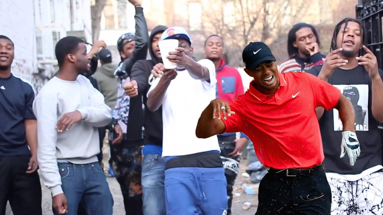 Et dans un clip de rap
