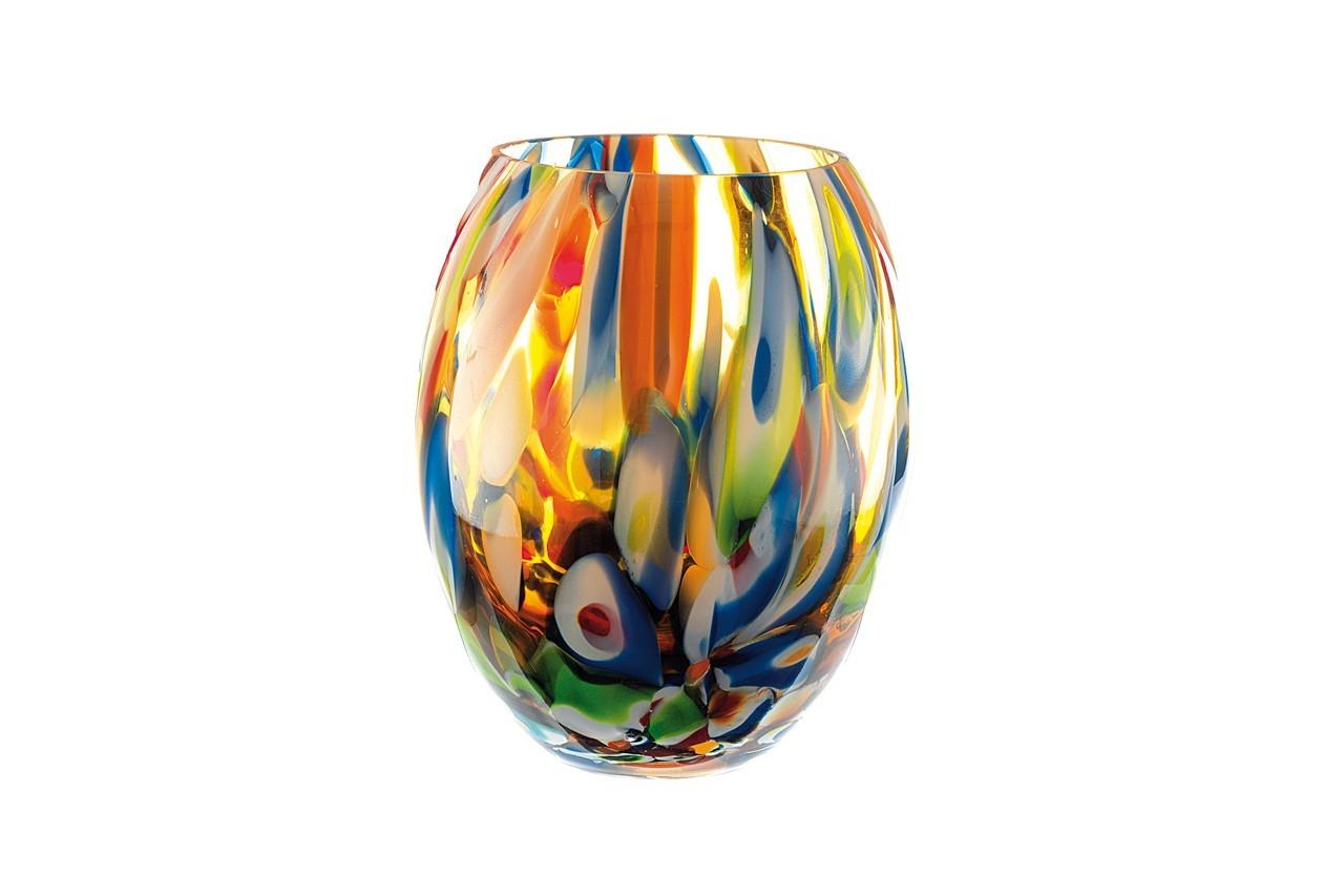Une explosion de couleur pour ce vase ballon. Vase Ambra, Now's Home, 145 €