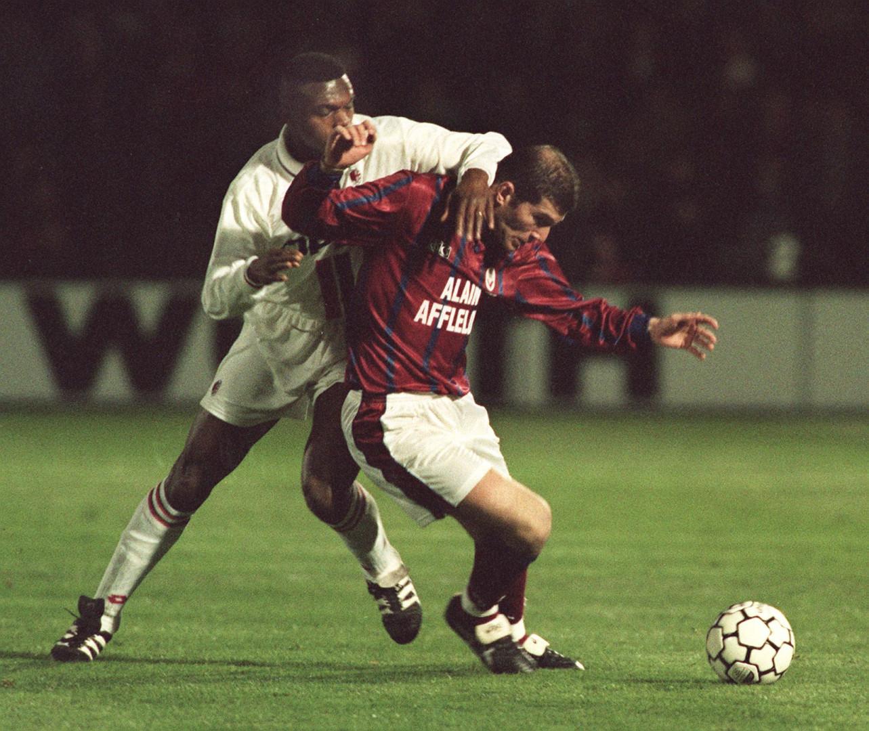 19 mars 1996 : conduit par Zidane, Bordeaux élimine le Milan AC de Desailly en 1/4 de la Coupe de l'UEFA