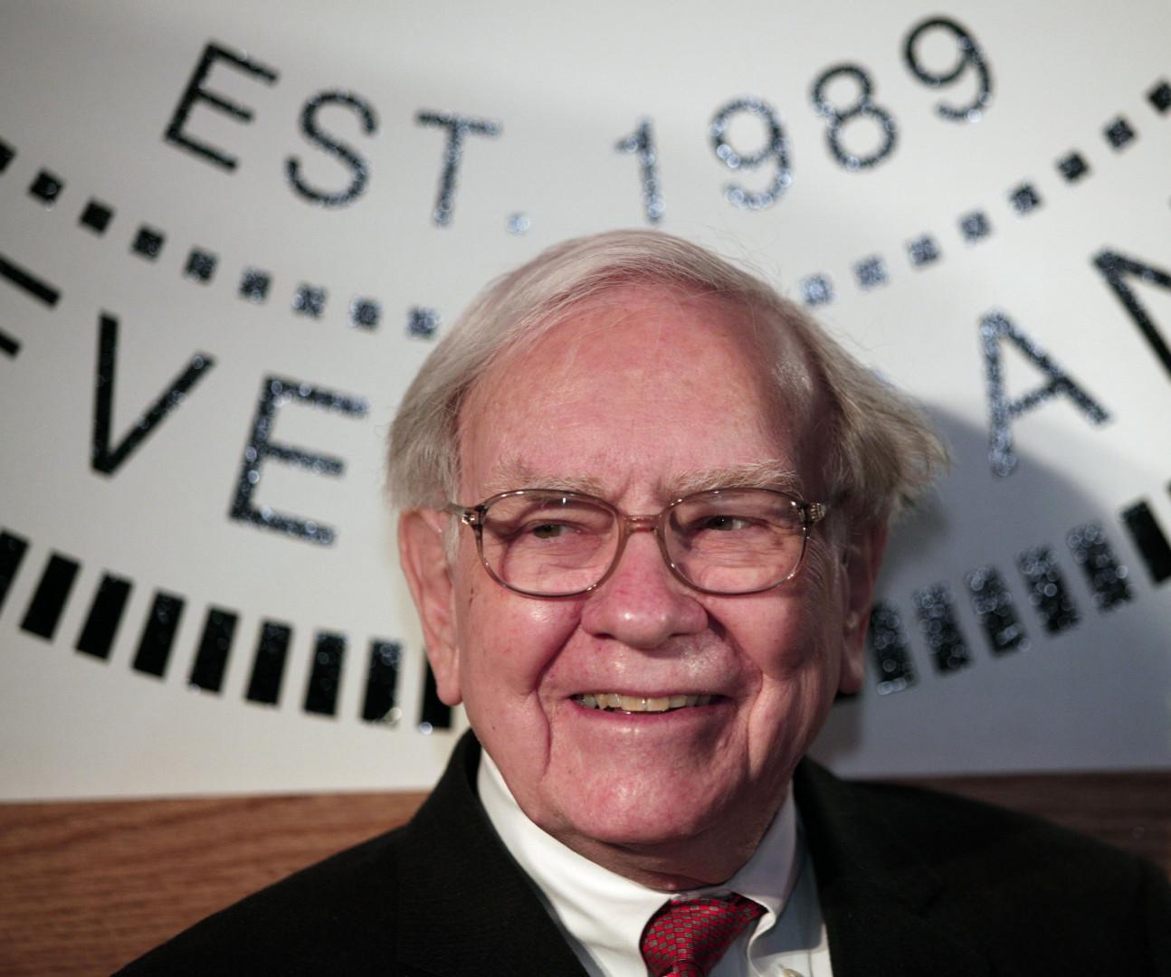 Le multi-milliardaire Warren Buffett, l'un des hommes les plus riches au monde