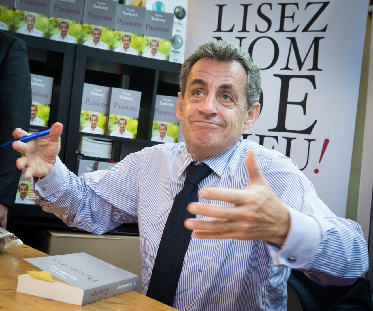 """Le 27 juin 2019, Nicolas Sarkozy sort le livre """"Passions"""""""