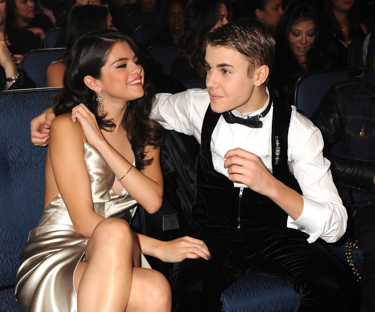 Selena Gomez et Justin Bieber à l'époque
