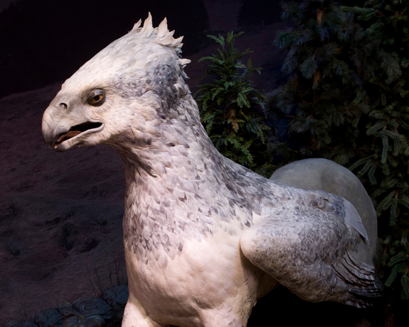 Une réplique de l'Hippogriffe d'Harry Potter