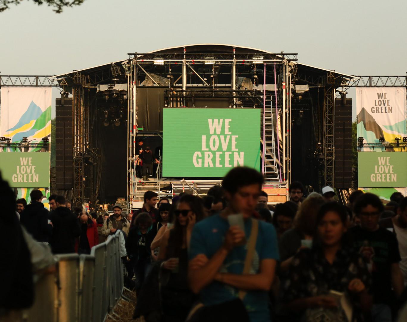 La scène de la Prairie a accueilli les plus grosses têtes d'affiche du festival