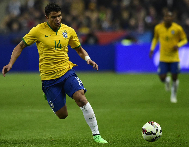 Thiago Silva pourrait faire son retour au sein de la Selecao pour les Jeux olympiques