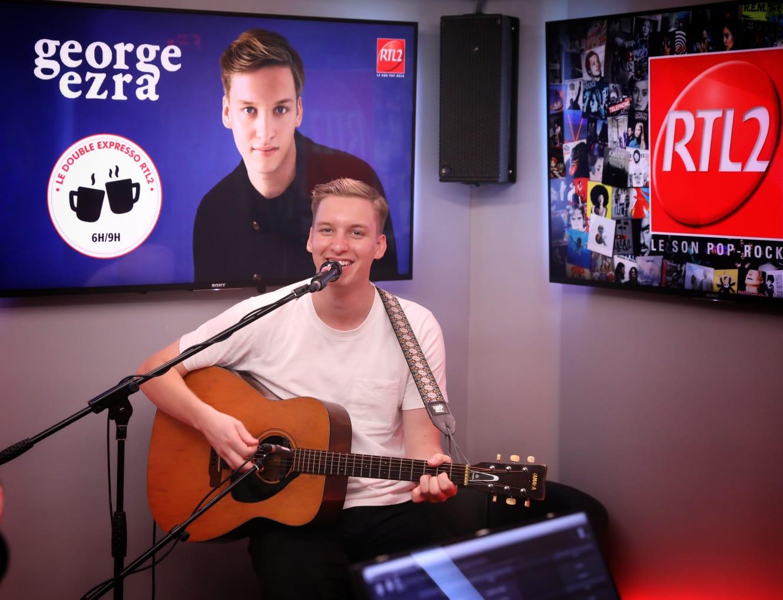 George Ezra live dans les studios de RTL2