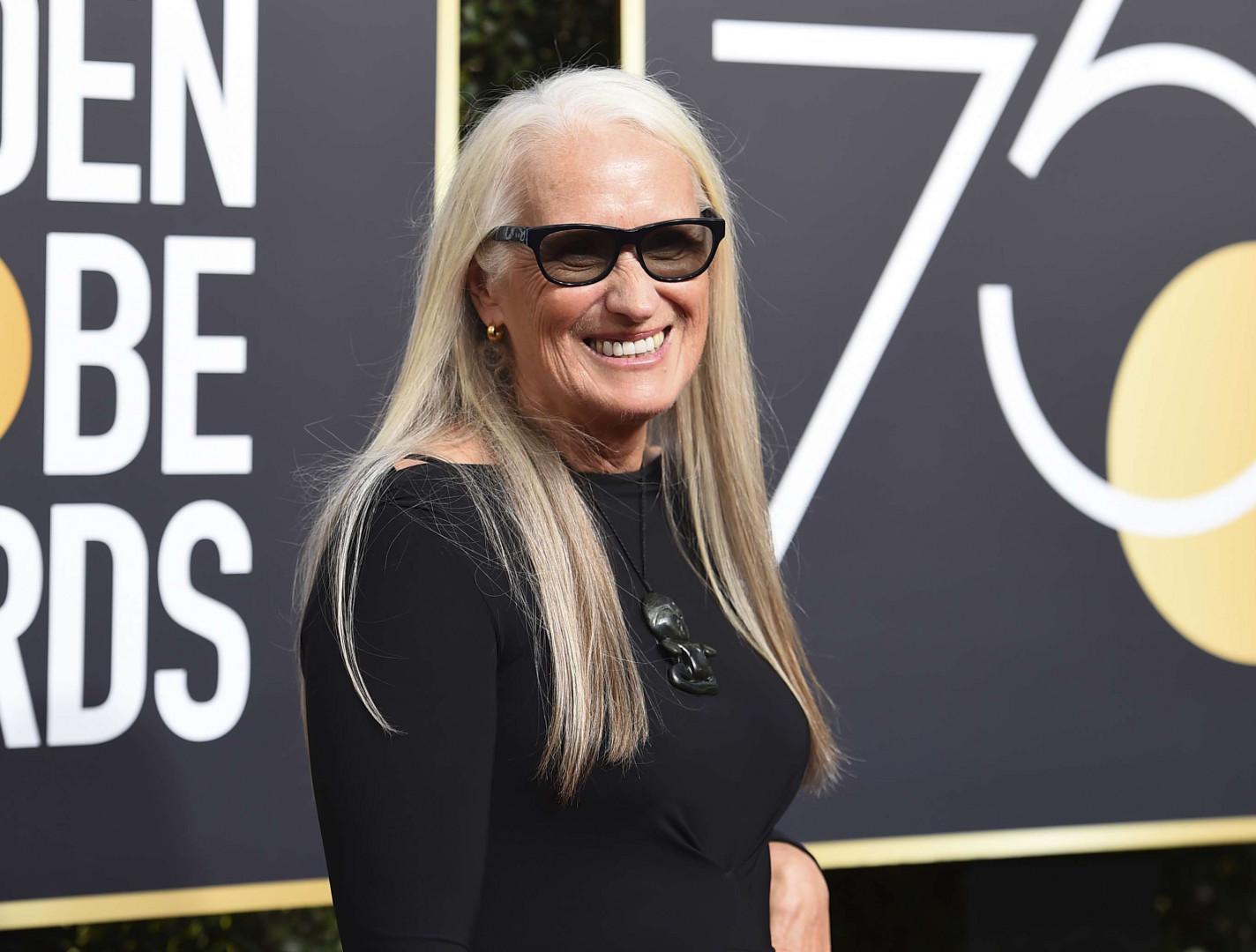 La réalisatrice Jane Campion aux Golden Golbes 2018