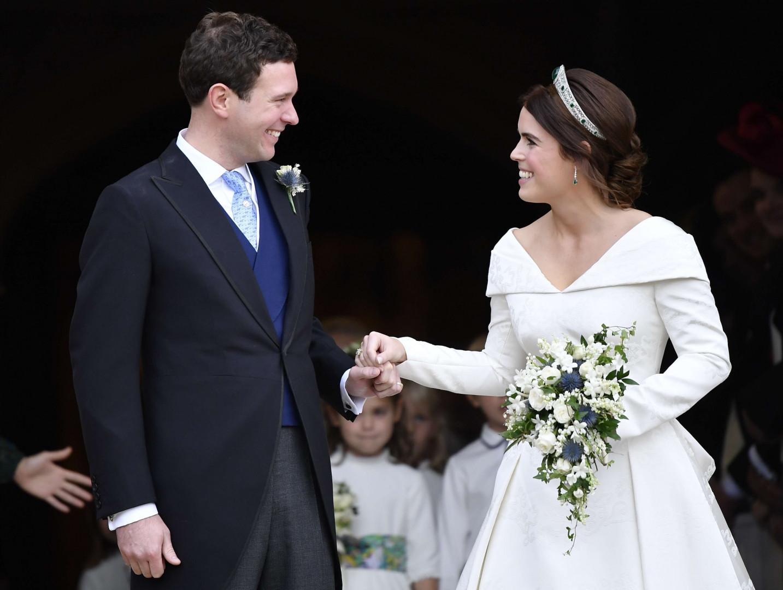 La princesse Eugenie et son tout nouveau mari