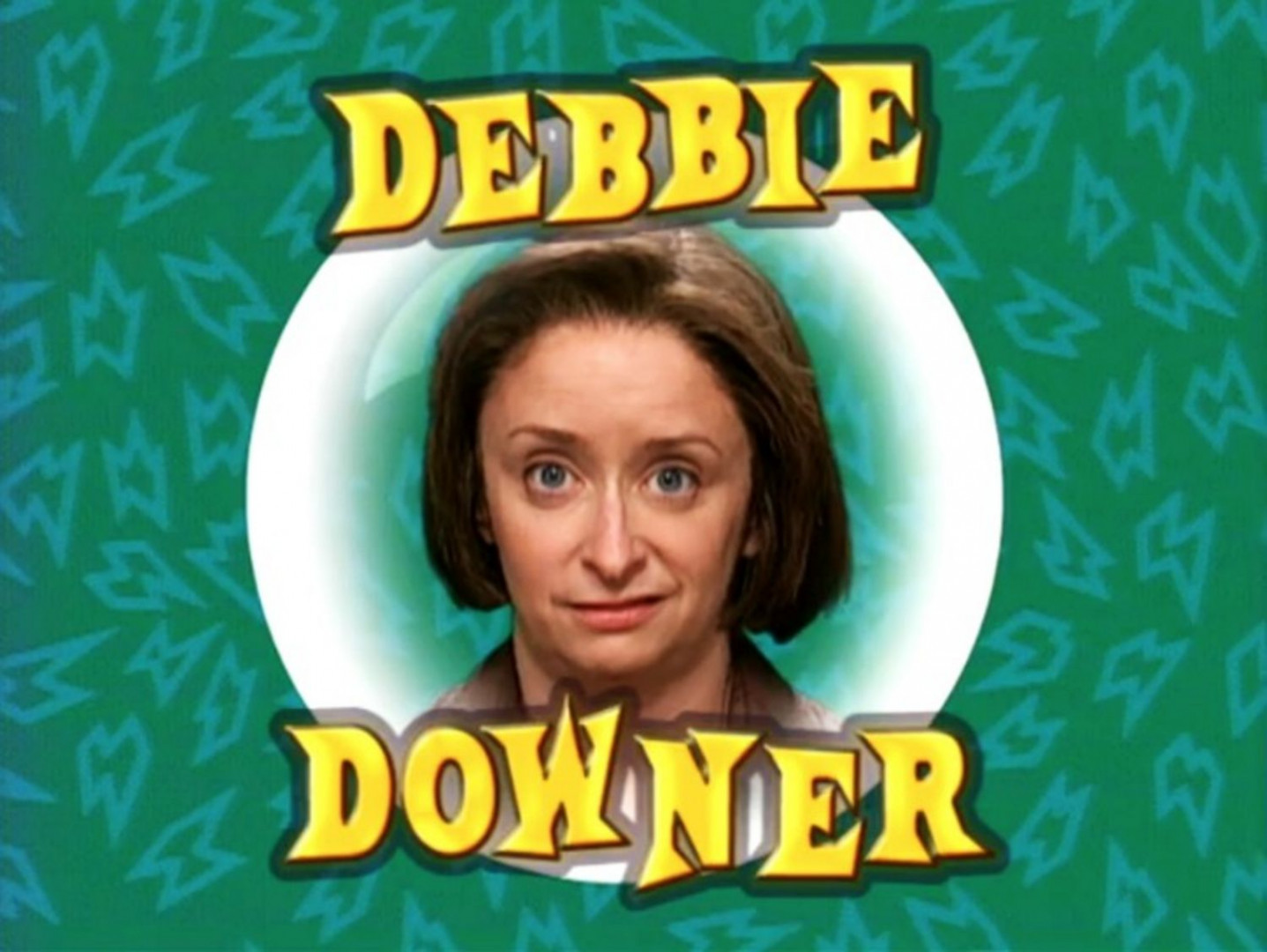 "Debbie Downer est un personnage fictif de ""Saturday Night Live"" qui a prêté ses traits à Tristesse"