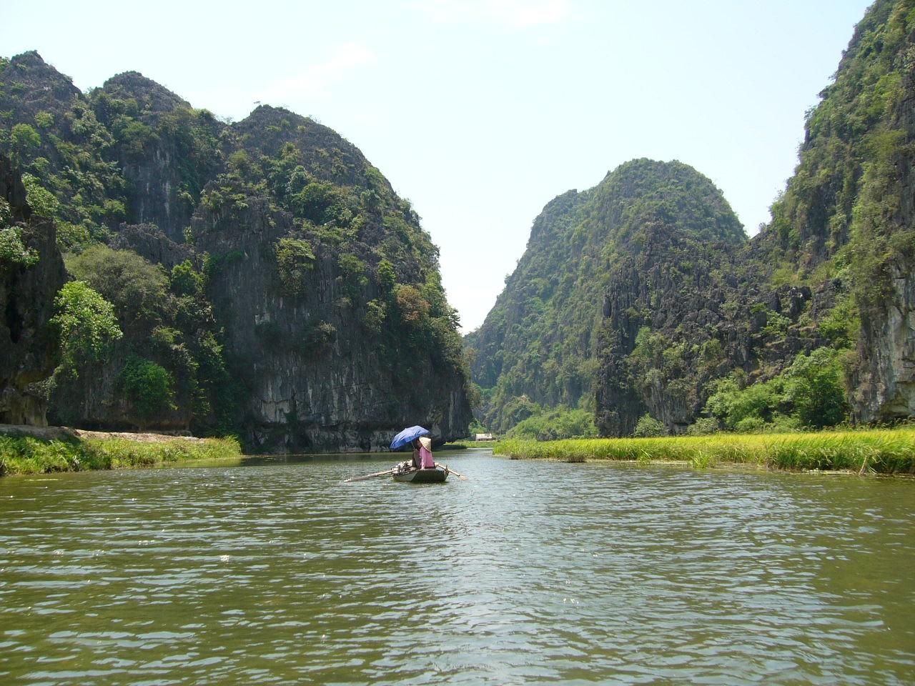 La Baie d'Ha-Long au Viêt Nam